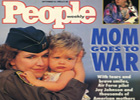 People Magazine Cover 1990 Mom Goes to War