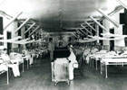 Army Contract Nurse on a Ward at the First Reserve Hospital Manila